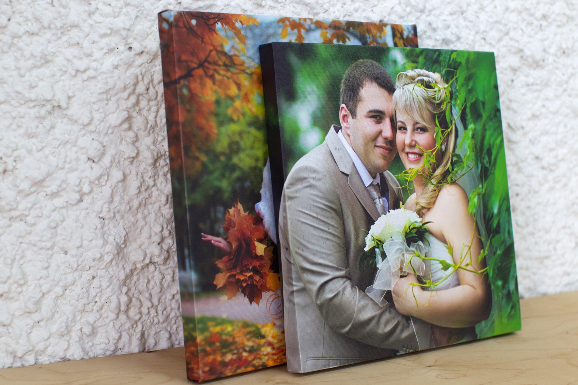 печать на холсте фотографий пример версия